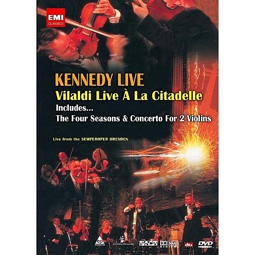 【停看聽音響唱片】【DVD】甘乃迪演奏韋瓦第「四季」:小提琴協奏曲現場
