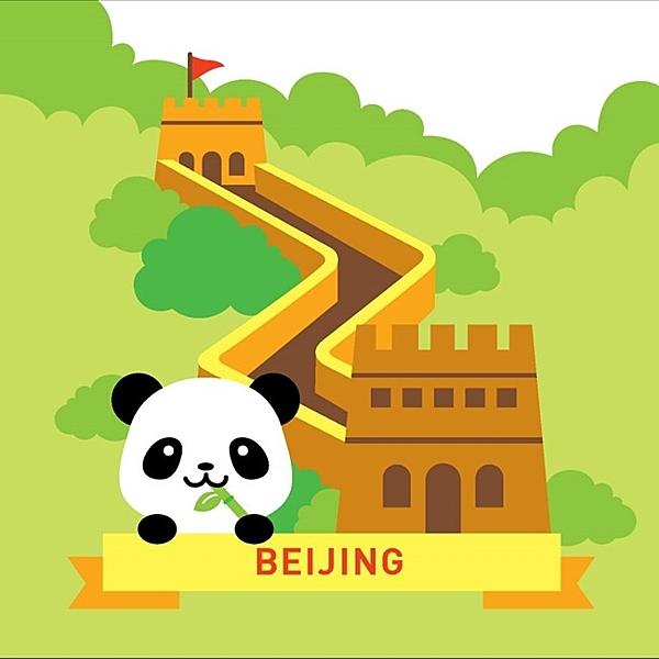LOVIN 超萌韓版數字油畫 城市系列 北京(10) 1幅