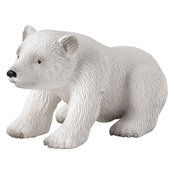 【Mojo Fun 動物星球】海洋生物-小北極熊(坐姿) 387021