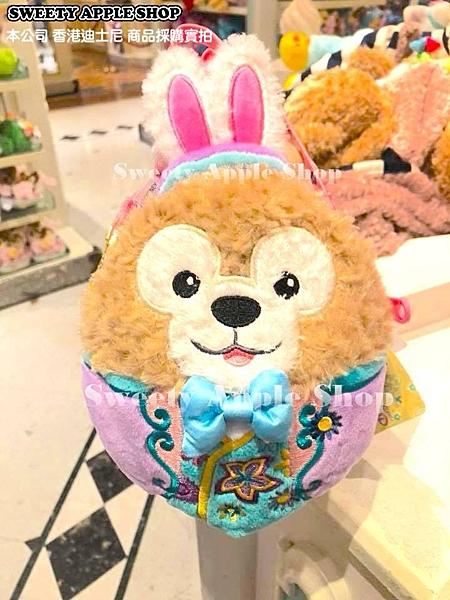 (現貨&樂園實拍) 香港迪士尼 樂園限定 達菲&史黛拉兔 雙面 復活節限定  掛繩 玩偶 零錢包