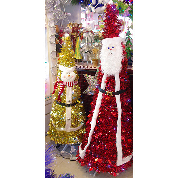 節慶王【X317004】5尺發光折疊雪人,聖誕燈飾/聖誕佈置/擺飾/掛飾/造型燈/LED燈