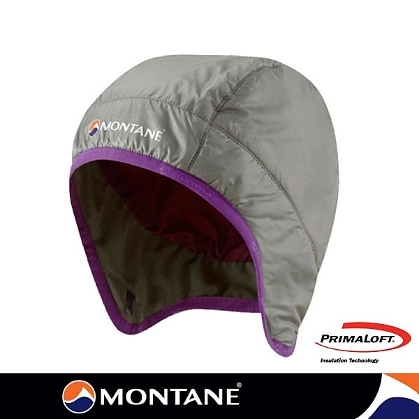 【Montane 英國 FireBall火球 Primaloft 保暖帽《銀灰》】HFIHASIL/防風透氣護耳帽/保暖帽