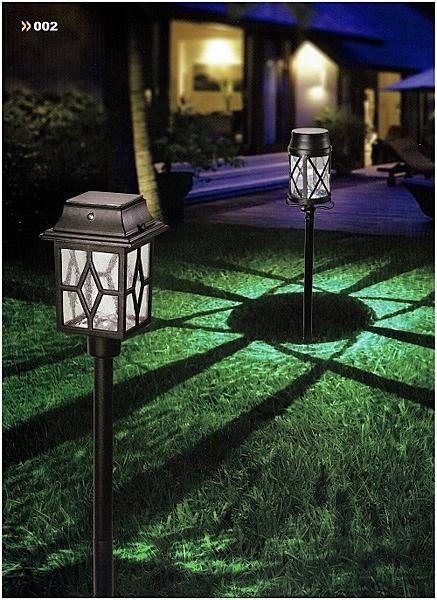【燈王的店】太陽能插地式庭園燈☆ YY20031