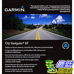 [106美國直購] 2017美國暢銷軟體 Garmin City Navigator 2016 Germany/Eastern France Map microSD Card