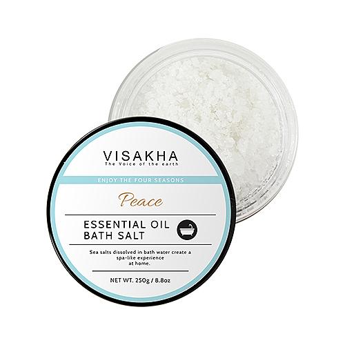 【Visakha】安定樂活精油海鹽 250G