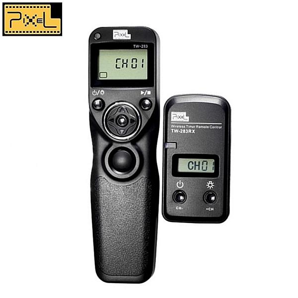 又敗家@PIXEL品色NIKON無線電定時快門線遙控器TW-283/DC0適D4s D3s D800E D810 D700 D300s D200相容MC-30