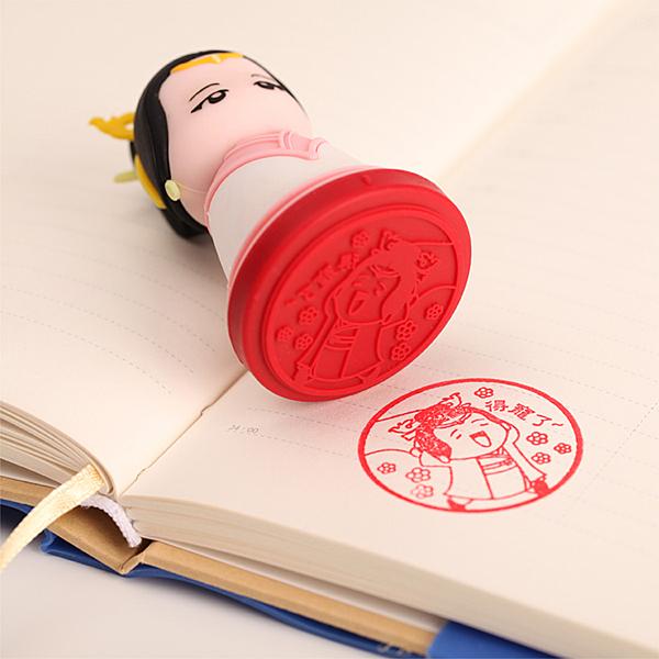 【收藏天地】文創禮品*帝后系列印章組-漢 光烈皇后 ∕創意小物 送禮
