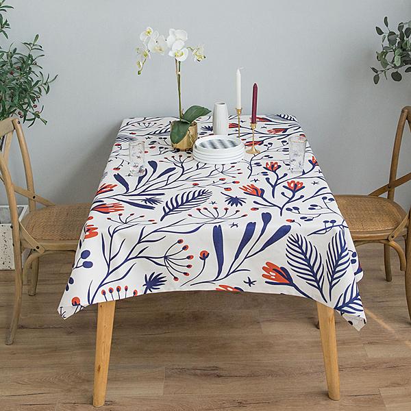 時尚可愛空間餐桌布 茶几布 隔熱墊 鍋墊 杯墊 餐桌巾801 (100*140cm)