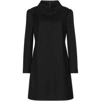 《セール開催中》CELINE レディース ミニワンピース&ドレス ブラック 40 ウール 73% / シルク 27%