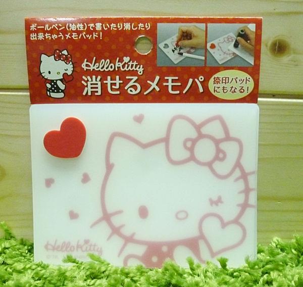 【震撼精品百貨】Hello Kitty 凱蒂貓~便條版-可擦拭【共1款】