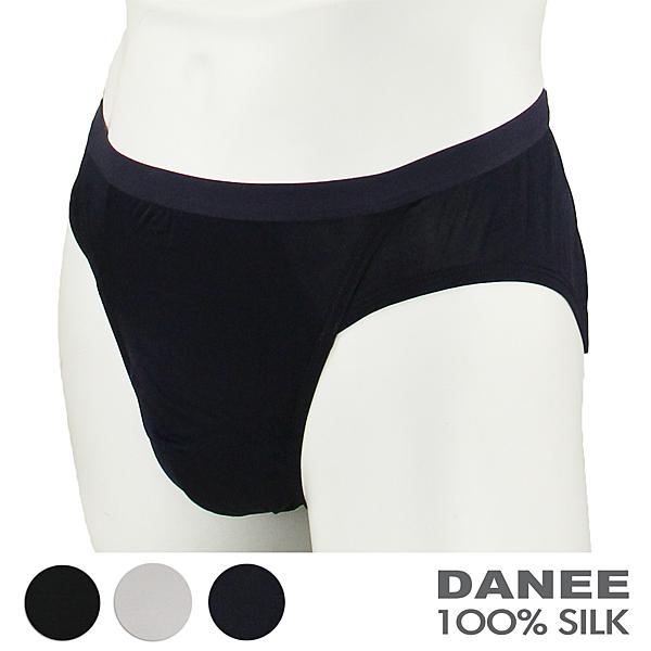 【岱妮蠶絲】CM0109E純蠶絲42針70G低腰三角內褲(藏青)