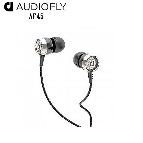 Audiofly AF45 (黑) 耳道式耳機 附線控麥克風