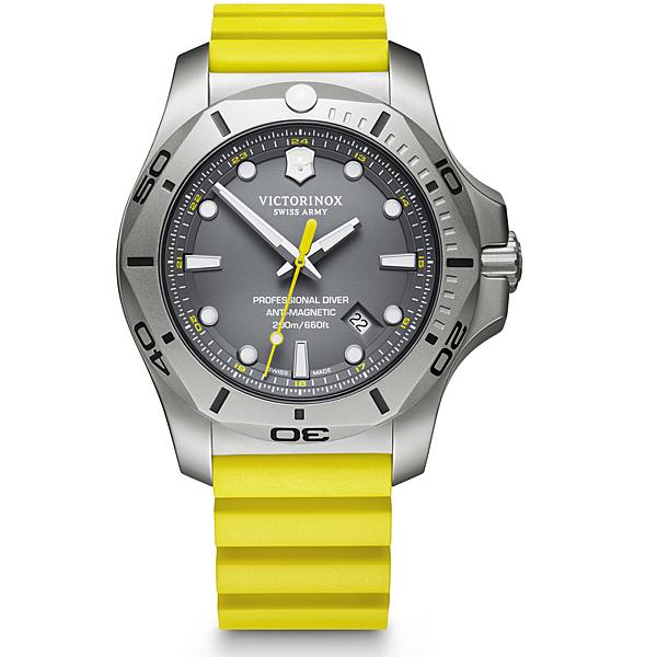 VICTORINOX SWISS ARMY瑞士維氏I.N.O.X. Professional Diver潛水錶 VISA-241844 黃
