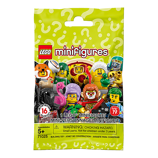 LEGO 樂高 Minifigures 71025 人偶包 單包隨機 【鯊玩具Toy Shark】
