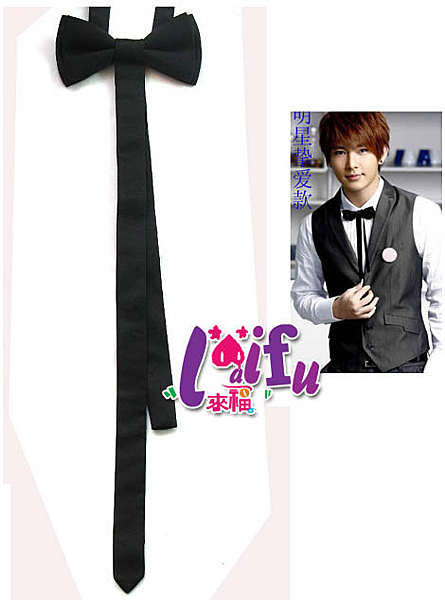 來福, 長款雙層領結糾糾領結雙層晏會表演搭西裝領帶,直購價150元,現+預7-10