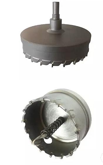 【 麗室衛浴】水電達人 超好用嵌燈挖孔利器 120mm--250mm金屬圓穴鋸 採用鎢鋼刀片