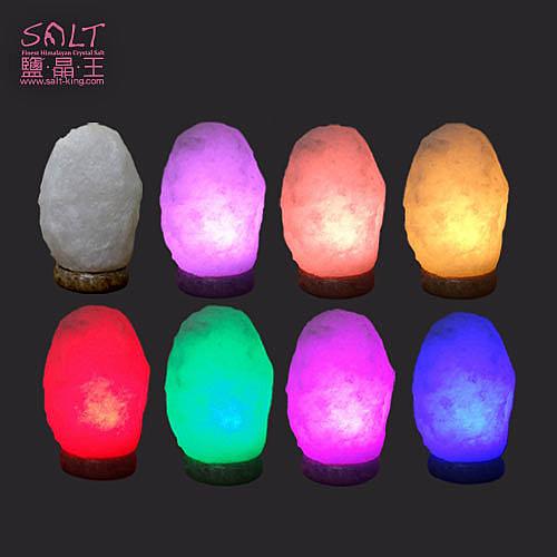 鹽燈專家-療癒系商品‧頂級特殊白鹽彩變鹽燈(USB),搭配獨特多晶元之LED變化上百種顏色。