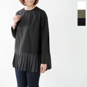 MARECHAL TERRE マルシャルテル プリーツコットンブラウス pleats blouse