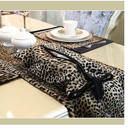 歐式蛇豹紋紙巾盒(圖一)-FD6220