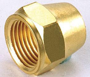 水電材料 風壓接頭 氣壓缸用 快速接頭 風用 銅接頭 喇叭 螺帽 1/4