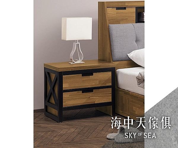{{ 海中天休閒傢俱廣場 }} G-41 摩登時尚 臥室系列 A62-07 奧斯汀床頭櫃