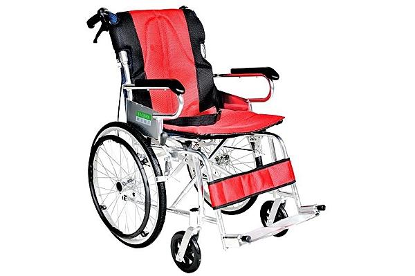 輪椅B款 / 鋁合金輪椅- (中輪背可折)// YC-873/20