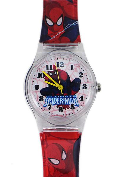 【卡漫城】 蜘蛛人 膠錶 L 透明框 ㊣版 Spiderman 手錶 蜘蛛俠 男童 卡通錶 兒童錶 男童錶 台灣製