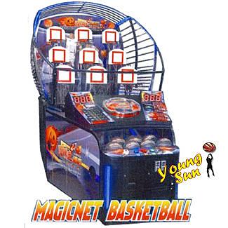 魔框 籃球九宮格 籃球機 投籃機 運動  投籃球機 活動租賃 大型遊戲