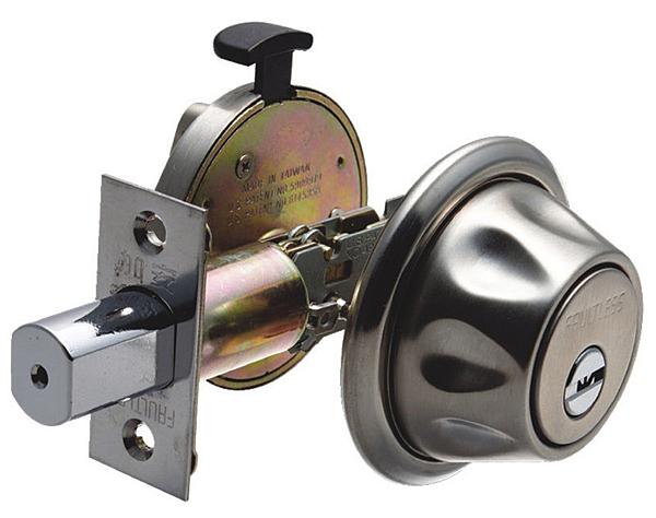 加安輔助鎖 D567 卡巴鑰匙 不銹鋼磨砂色