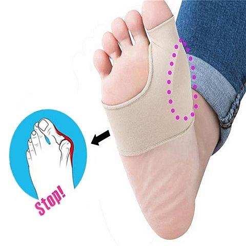 分趾器 一對裝高跟鞋防磨套拇外翻大腳骨摩擦運動疼套式拇趾保護套分趾器萬聖節狂歡