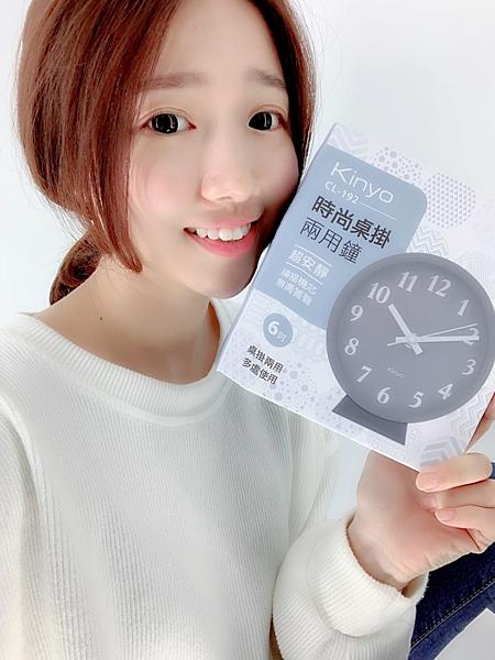 KINYO CL-192 桌掛兩用鐘 時鐘 桌上 掛鐘 送電池