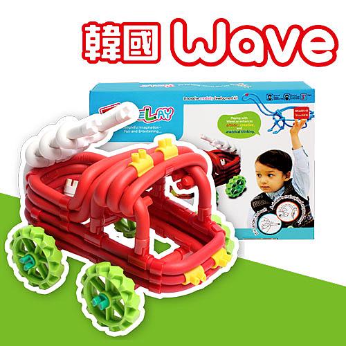 【韓國Wave魔力建構波波棒】中階款-侏儸紀探險車 WP000013