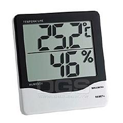 TFA 數字式最高最低溫濕度計-10~60