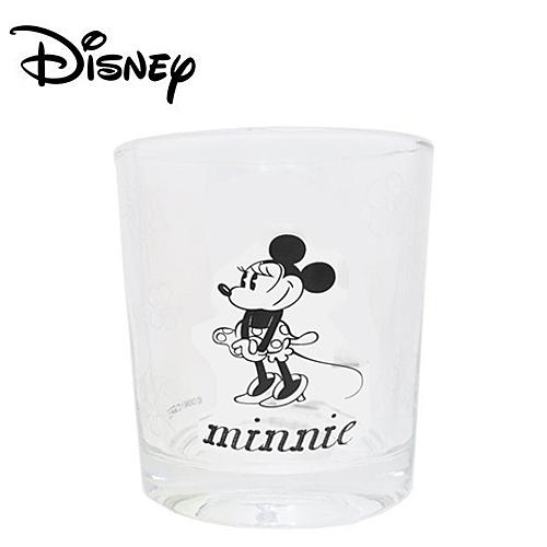 【日本正版】米妮 玻璃水杯 玻璃杯 Minnie 200ml 透明水杯 迪士尼 Disney - 226915