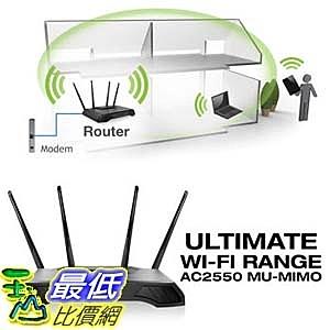 [105美國代購] Amped  High Power AC2550 Router with MU-MIMO (RTA2550) A894271
