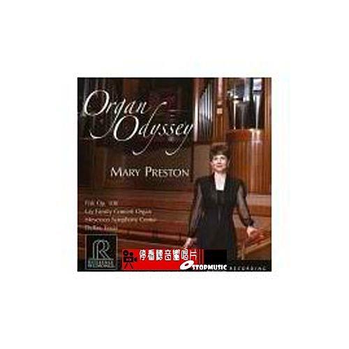 【停看聽音響唱片】【RR】管風琴奧迪賽