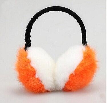 可愛耳罩 耳暖護耳 冬季保暖兔狐狸毛