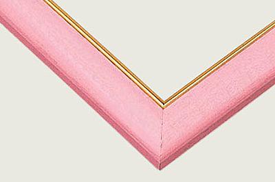 300P專用方框(粉紅色金線)  /26*38cm/BEVERLY/木框/日本進口