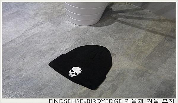 FINDSENSE 鬼頭 毛帽 設計 秋冬潮流毛帽