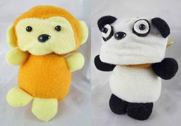 【震撼精品百貨】日本泰迪熊~變身玩偶『猴子/熊貓』(共2款)
