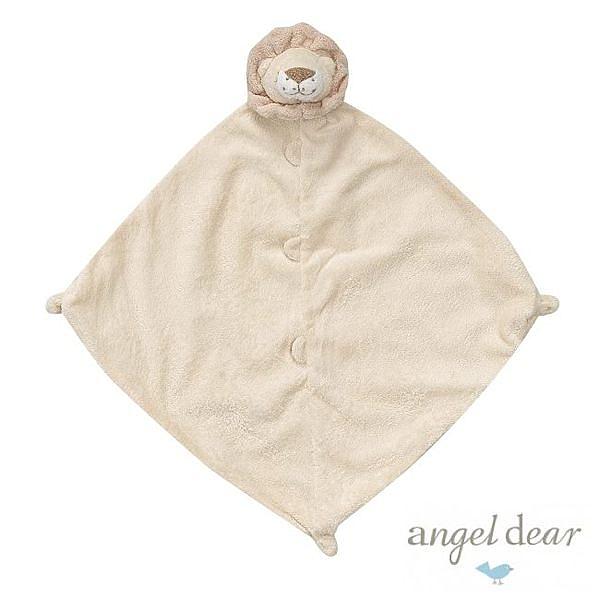 美國Angel Dear 動物嬰兒安撫巾 小獅王