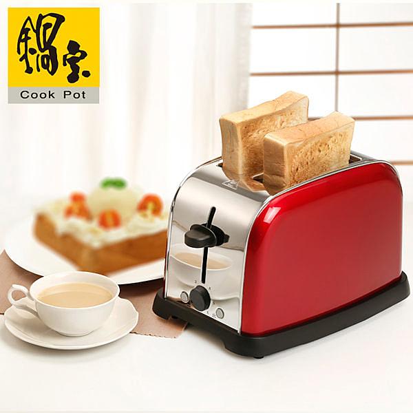 【艾來家電】【分期0利率+免運】鍋寶 厚片/薄片吐司不鏽鋼烤麵包機 OV-860-D