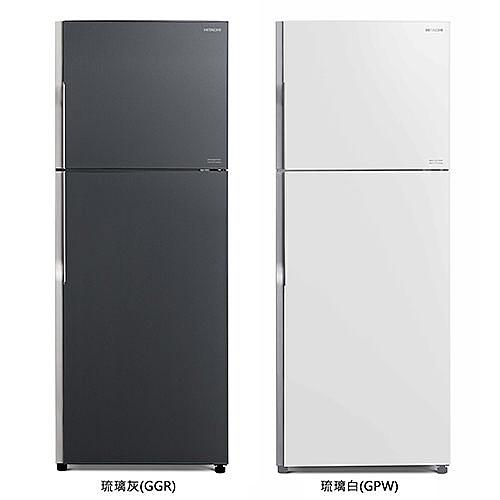 日立HITACHI  570L變頻雙門冰箱 RG599(免運費)