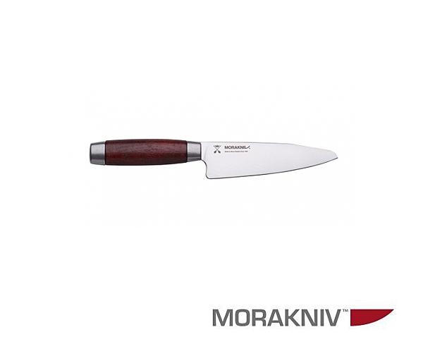 丹大【MORAKNIV】 UTILITY KNIFE CLASSIC 1891 經典不鏽鋼短廚刀13CM 紅12313