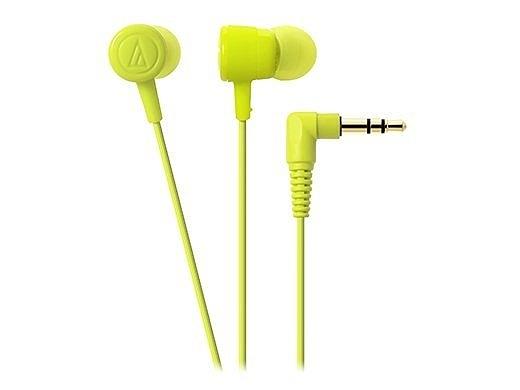 全新 鐵三角 ATH-CKL220 入耳式耳機-淺綠色 繽紛上市 高音質首選 台灣鐵三角公司貨
