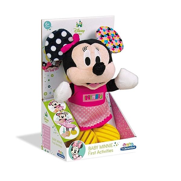 【美國 Disney 迪士尼】米妮手感啟蒙娃娃 CL17164