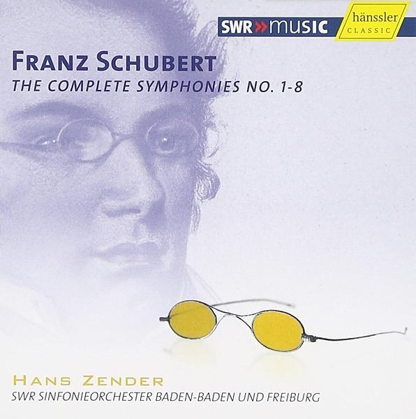 【停看聽音響唱片】【CD】Franz Schubert:The Complete Symphonies No. 1-8