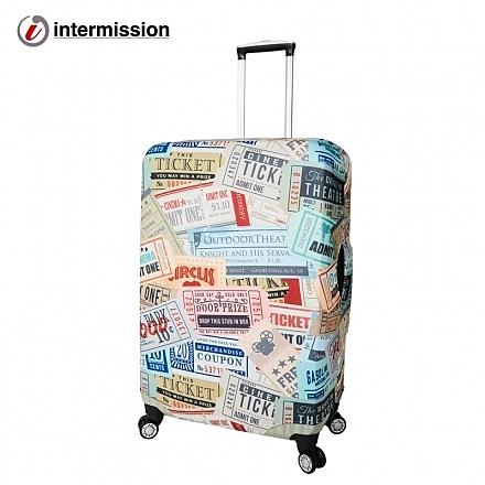 【Intermission】LCS452票據 M號22-26吋日版彈力拉桿箱保護套 行李箱套