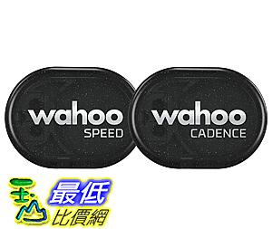 [106美國直購] Wahoo B01DXF0LQ6 RPM  (Speed+Cadence) Sensor  速度/迴轉 感應組 for iPhone, Android