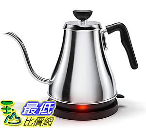 [美國代購]Electric Gooseneck Kettle水壺- 快速煮沸電熱水壺熱水器倒咖啡和茶